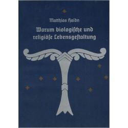 Haidn, Matthias: Warum biologische und religiöse Lebensgestaltung